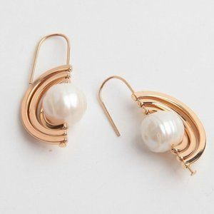 Tory Burch Spinning Pearl Earring